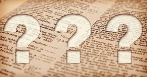 Three questions about the Bible Jesus might ask