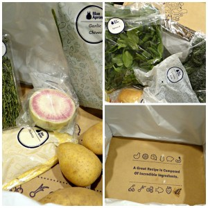 Blue Apron: Signup and  Unboxing