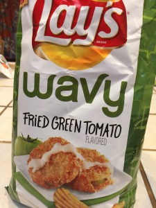 "Lay's ""Do Us a Flavor"" 2017: Wavy Fried Green Tomato"