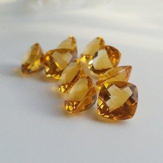 Citrine Cushion Gemstones