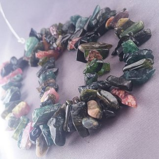 Rough Tourmaline Nugget Beads