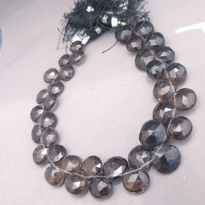Quality Smoky Quartz Briolettes