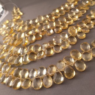 Quality Citrine Briolettes