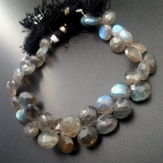 Labradorite Briolettes Beads