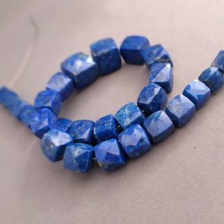 Faceted Lapis Lazuli Beads