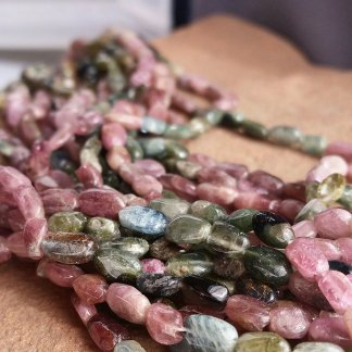 Multicolor Tourmaline Beads