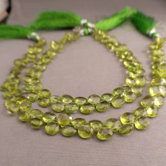 Quality Peridot Briolettes