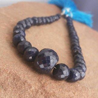 Big Sapphire Beads