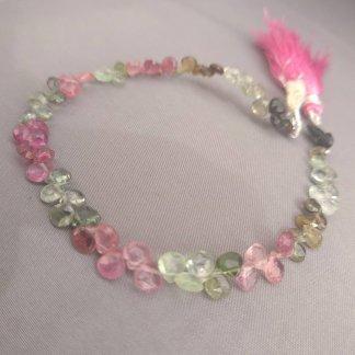 Tourmaline Briolette Beads