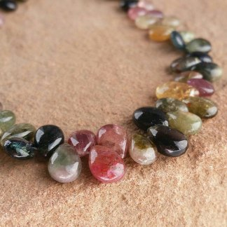 Quality Tourmaline Briolette Beads