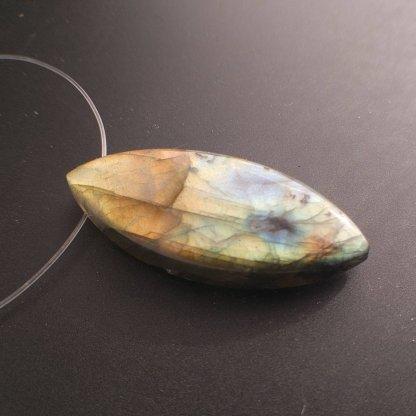 Labradorite Focal Bead