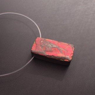 Ammolite Pendant Bead