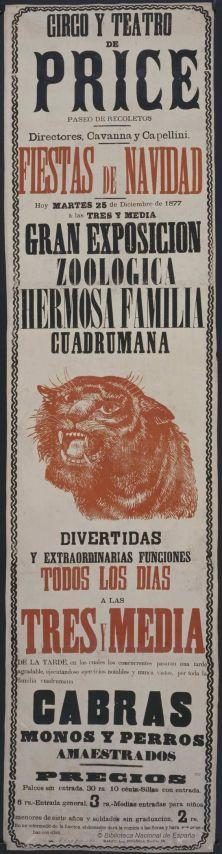 Gran exposición zoológica. 1877