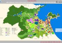 Bản đồ thuyết minh Quy hoạch chung của thành phố Đà Nẵng