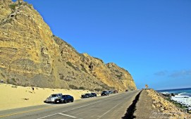 Pacific Coast Highway in Malibu