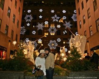 Christmas Angels at the Rockefeller Center.