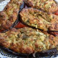 I mirizani, aubergines à la Bonifacienne {Corse}
