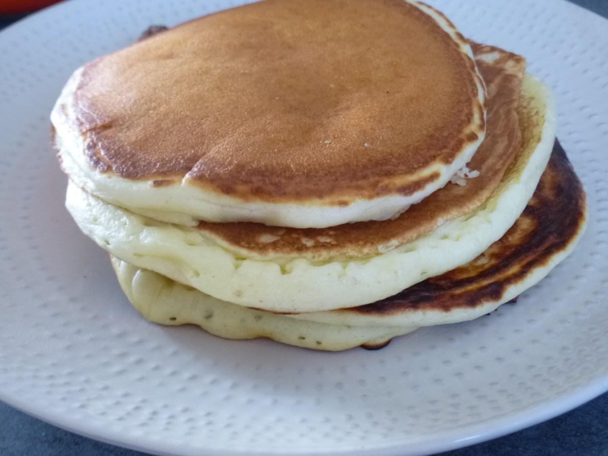 "Pancake ""pot de yaourt"""