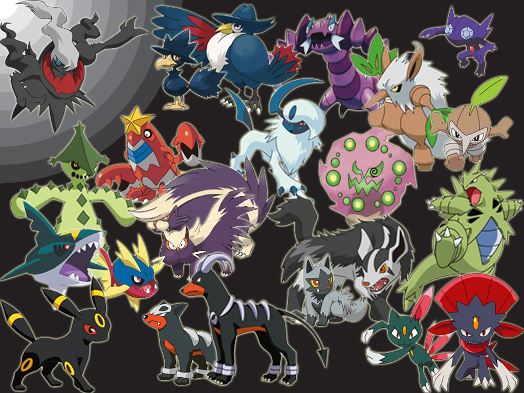 10 Best dark type Pokemon