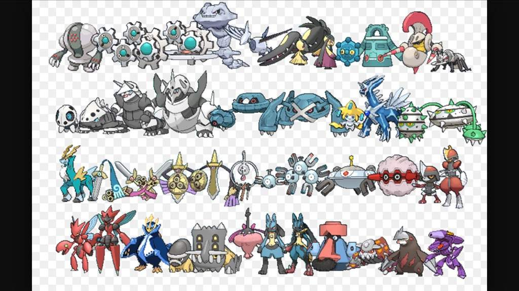 10 Best steel Pokemon types