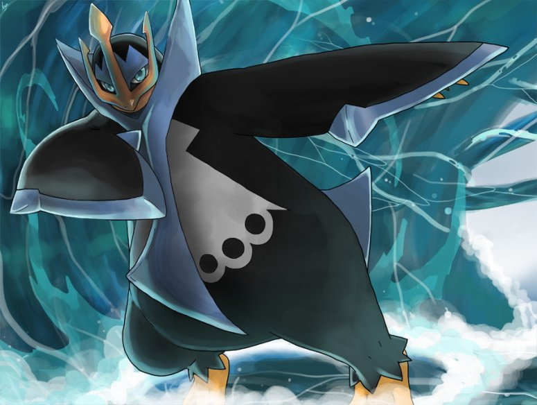 empoleon_used_surf_by_seiryuuden