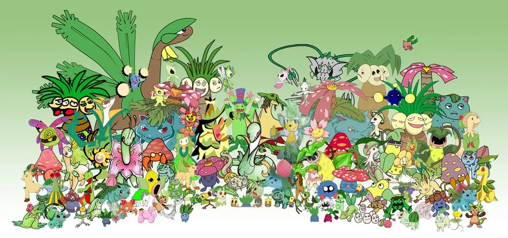 10 Best Grass Type Pokemon Ungroovygords