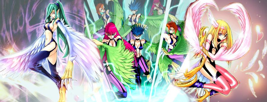 Elegant 2k16 Berserk Anime: Yu-Gi-Oh Deck And Combos: Harpie Deck
