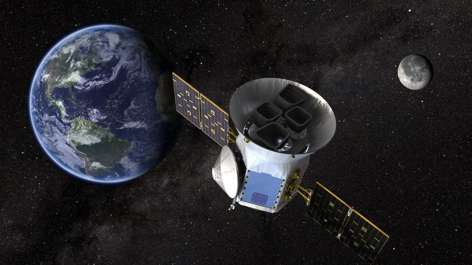 TESS probe finds first potential planets — GeekWire