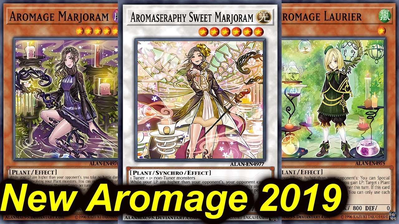duel links aromage deck 2020