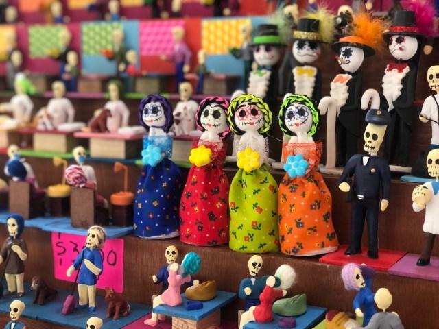Elementos de la Feria del Alfeñique además del chocolate