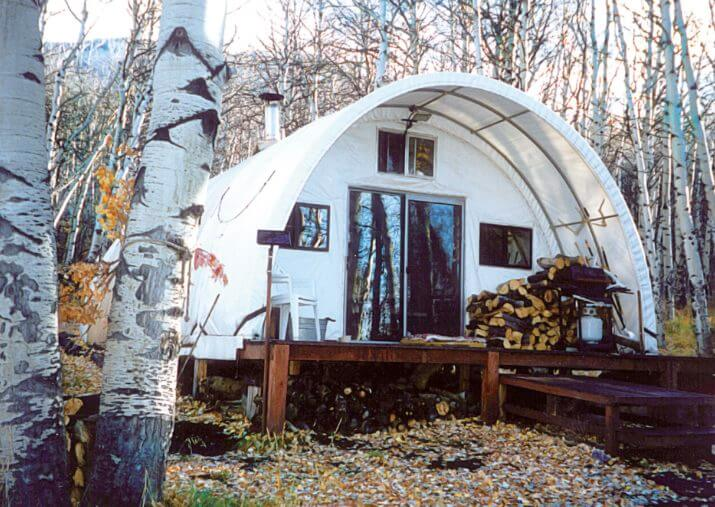 Living In a Quonset Hut: Great Idea for a Tiny House on metal holidays, metal housing, metal interior, metal steel frame houses, metal graphic design, metal building, metallic designs, metal additions, metal garden, metal home, prefab homes kits prices designs, metal photography, metal windows, metal painting, barn cabin plans and designs, metal stairs design,