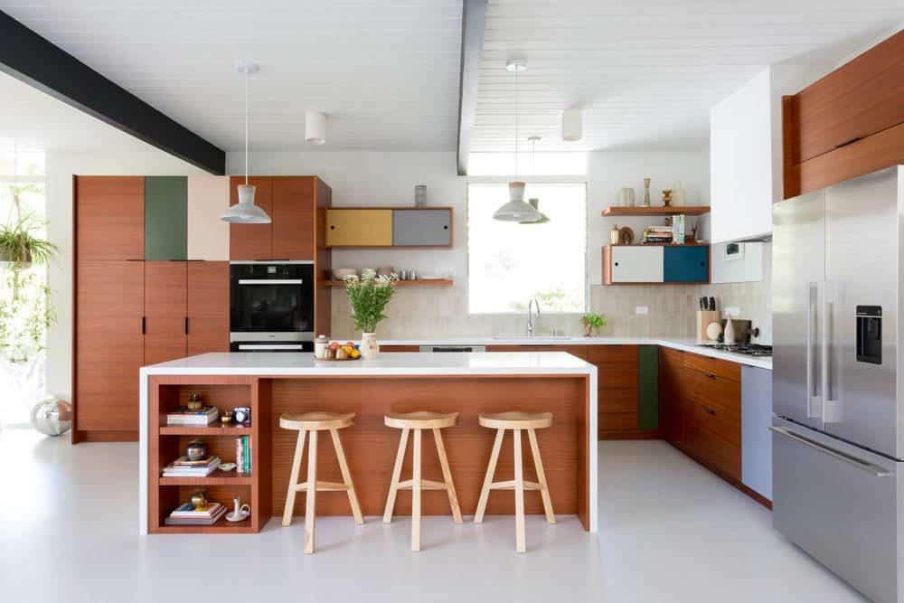 20 Stunning Designs of Mid Century Modern Kitchen on Modern Kitchen Design Ideas  id=36980