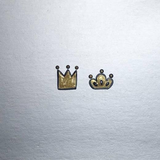 Como desenhar coroa (dois modelos)