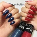 Esmalte Maybelline COLOR SHOW – Blue Jeans e Red Carpet