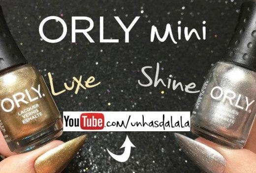 Esmalte Orly Mini - Luxe e Shine
