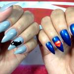 Unhas Decoradas Batman vs Superman