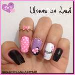 Unhas Decoradas Especial Minnie