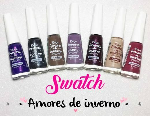 Swatch Esmalte Novo Toque - Coleção Amores de Inverno