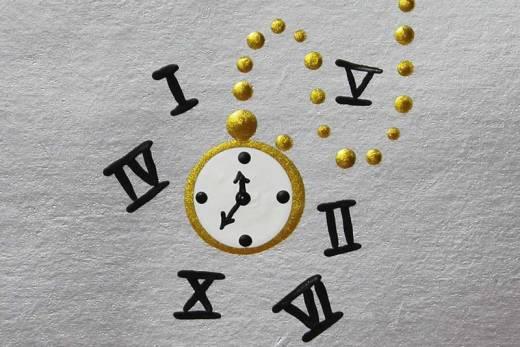 Como desenhar Relógio - Alice no País das Maravilhas
