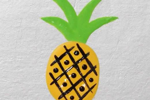 Como Desenhar Abacaxi