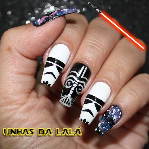 Unhas Decoradas Rogue One - Uma História Star Wars