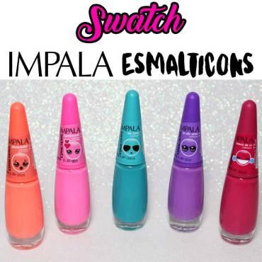 SWATCH: Coleção Esmalticons Impala