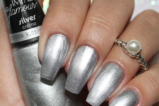 Esmalte Impala Glamour - Silver Cromo