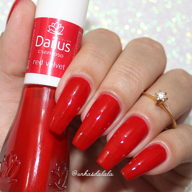 Esmalte Dailus - Red Velvet