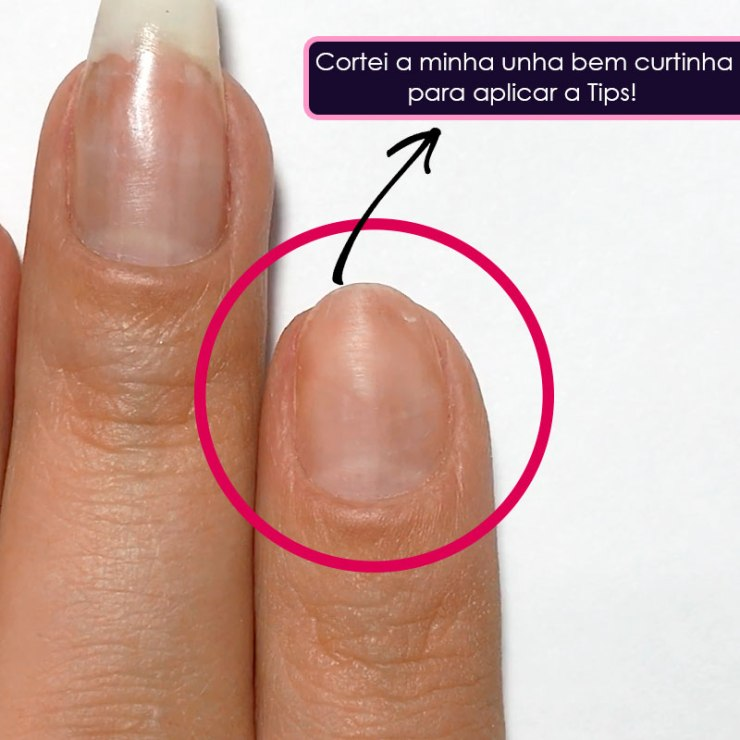 Como Alongar as Unhas com Tips
