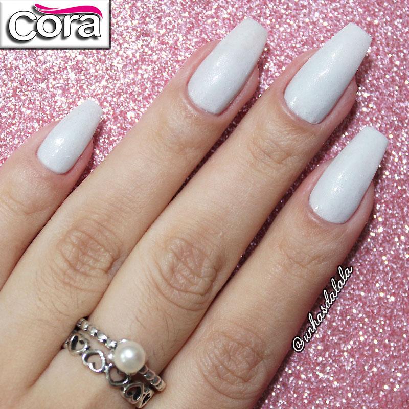 Esmalte Cora - Branco Top