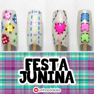 4 dicas de unhas decoradas para festa junina