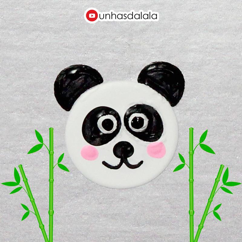 como desenhar panda