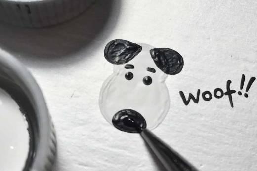desenhando cachorro