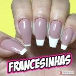 TUTORIAL: 5 Formas de Como Fazer Francesinha (French Nails)